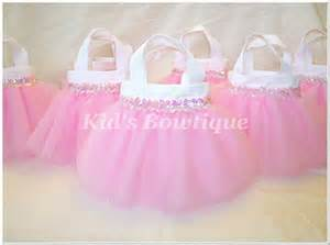 Princess Candy Bags 8 Sweet Baby Pink Sequins Party Favor Tutu Bags Baby Shower