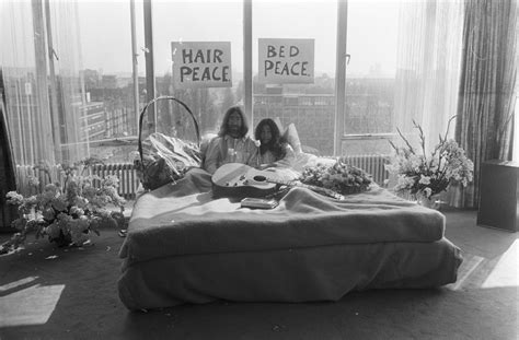 john lennon bed in file bed in for peace amsterdam 1969 john lennon yoko