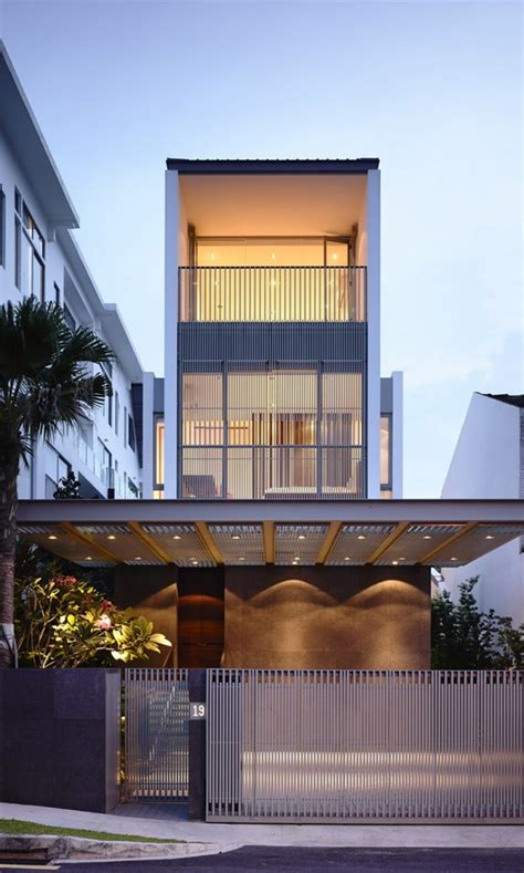 slim house design slim singapore house by hyla architects thecoolist the modern design lifestyle