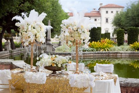 Great Wedding by The Gallery For Gt Great Gatsby Table Centerpieces