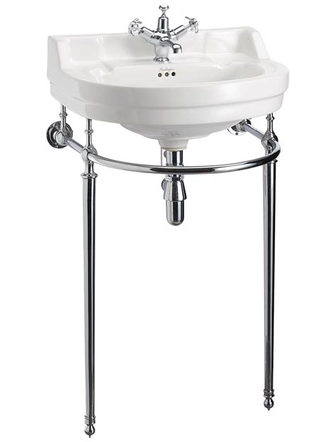 bathroom wash stand burlington edwardian round medium basin and wash stand