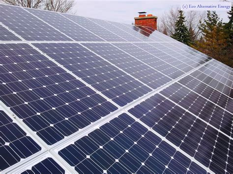 home solar installation solar panel eco alternative energy