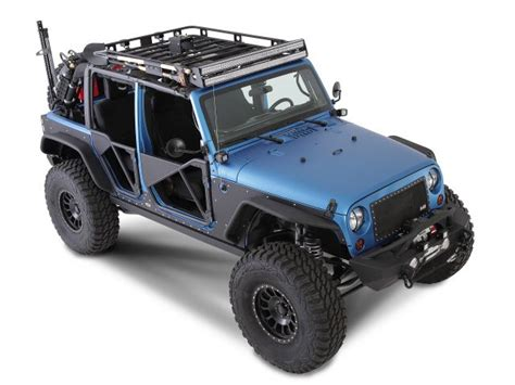 Jeep Jk Roof Rack Smittybilt 45454 Smittybilt Defender Roof Rack For 07 16