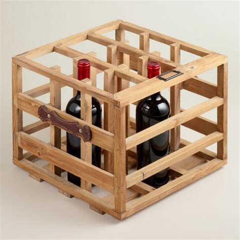 World Market Wine Racks by Wood Crate Wine Rack World Market