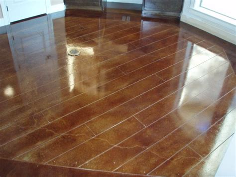 How To Make Concrete Floors Look Like Wood by 8 Best Stained Concrete Floors Images On
