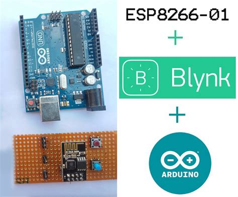 tutorial arduino linux connecting esp8266 01 to arduino uno mega and blynk