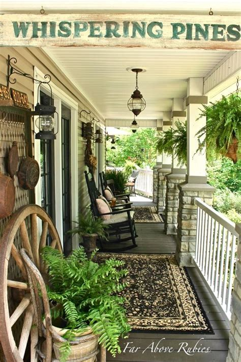 far above rubies vintage southern front porch and a feature