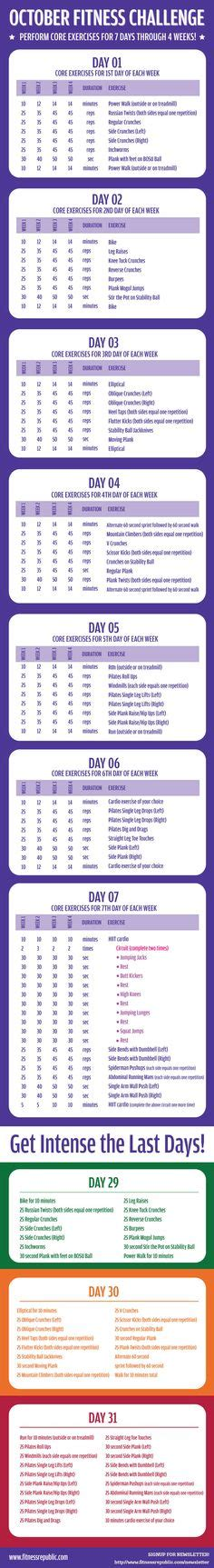 free exercise chart or ms excel use this template to create your weekly exercise plan print a