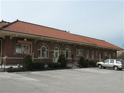 louisville and nashville railroad passenger depot berea