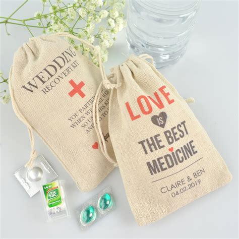 Wedding Kit by Printed Hangover Wedding Kits For Your Guests