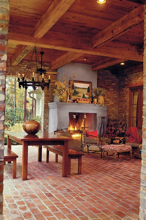 outdoor rooms and outdoor fireplaces fall s best outdoor fall s best outdoor rooms southern living