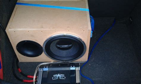 Subwoofer Selber Bauen Auto by Subwoofer Selber Bauen Sysprofile Forum