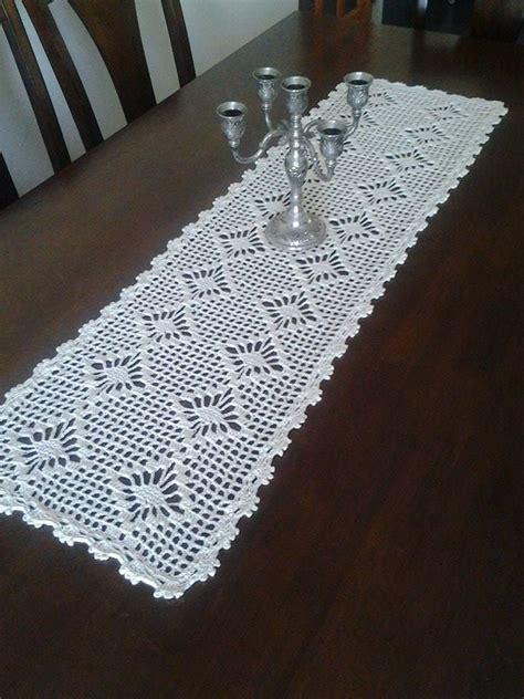 camino de mesa a crochet 263 best images about mantel tejido on pinterest mesas
