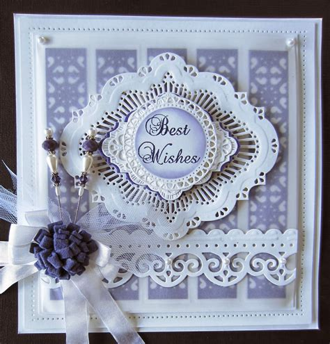 Wedding Wishes Expressions by Creative Expressions Best Wishes Card Create And Craft