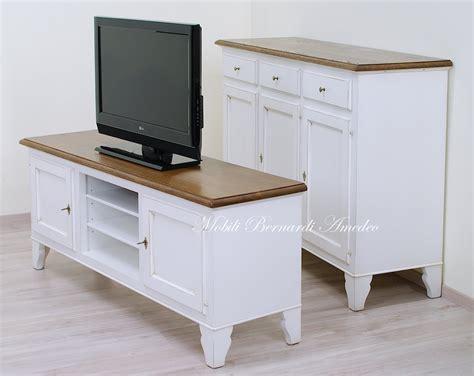credenze porta tv mobili tv country in legno porta tv