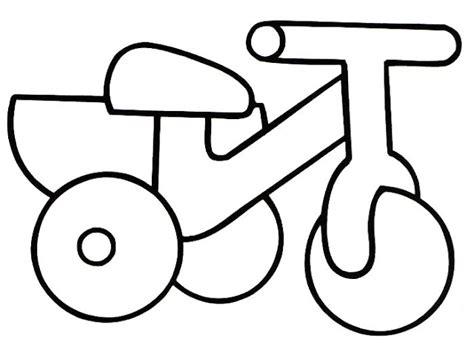 imagenes de bicicletas faciles para dibujar colorear dibujos de triciclos