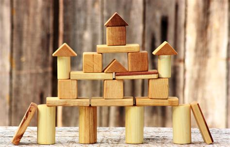 Handmade Wooden Blocks - sale handmade wooden blocks eco friendly toys children