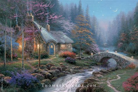 kinkade twilight cottage 1000 ideas about paintings on novel covers and griffins
