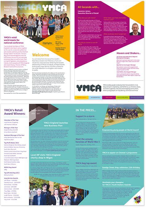Newsletter Design Portfolio Deciacco Design Graphic Design Colchester Essex London Ymca Newsletter Template