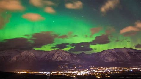 canada lights northern lights the canadian rockies