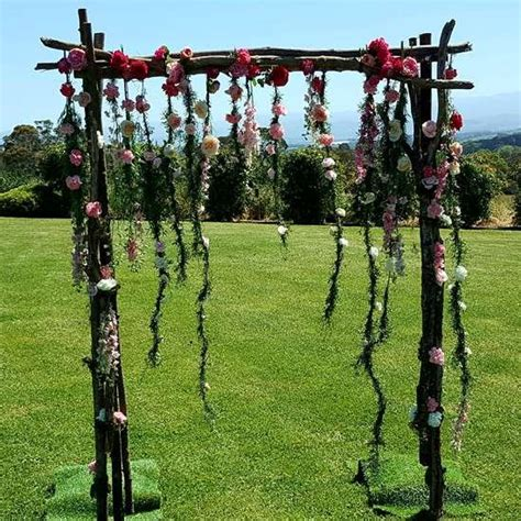 Wedding Arch With Hanging Flowers by Wedding Arbour With Hanging Flowers Ceremonies I Do