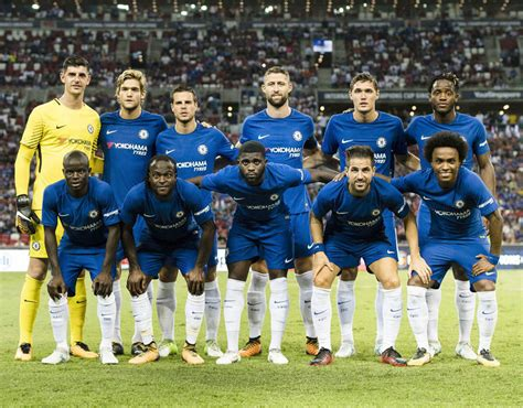 chelsea roster chelsea team to face bayern munich antonio rudiger joins