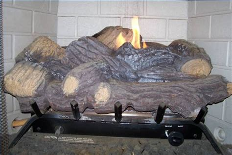 How Does A Gas Log Fireplace Work by 3 Sided Fireplace Fan Installation Ehow