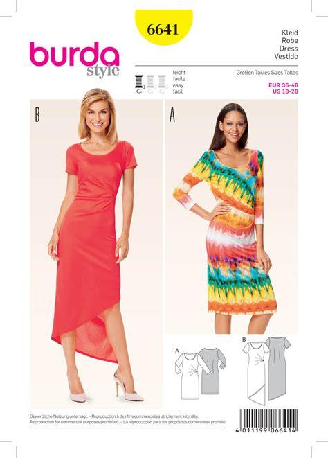 pattern review burda 7700 burda 6641 misses dress