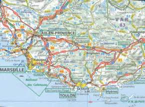 Southern France Map by Map Of Southern France