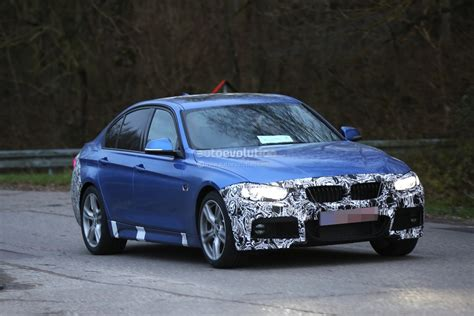 bmw 3 series facelift 2016 bmw 3 series facelift spotted wearing new taillights