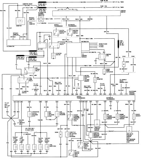 1988 ford ranger light wiring diagram 1988 free engine