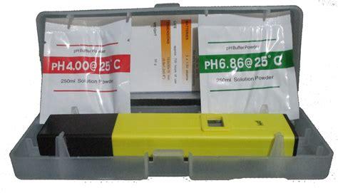 Alat Pengukur Ph Sederhana ph meter digital distributor bahan kimia analys dan