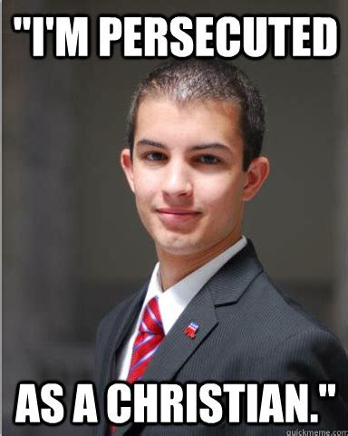 College Conservative Meme - the worst guy everybody knows the college conservative