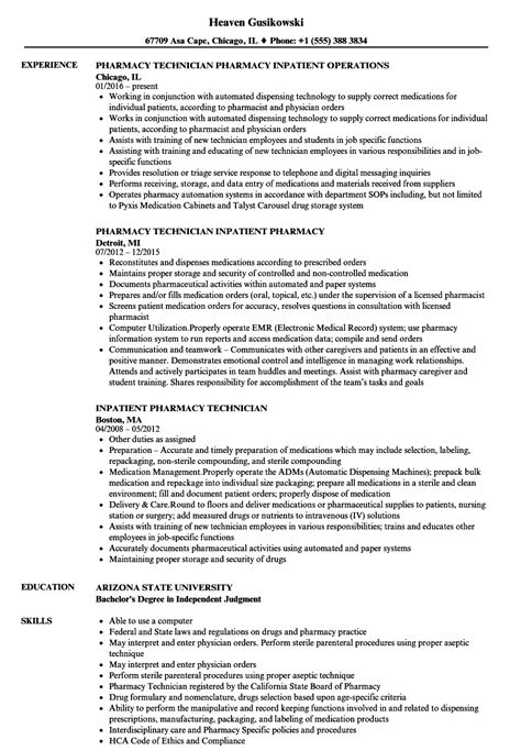 hospital pharmacist resume pharmacist resume sample hospital