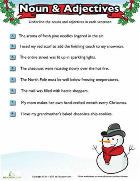 fourth grade holiday worksheets search results