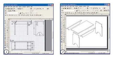 plans woodworking drawing software  wooden