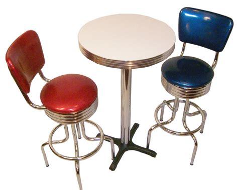 Retro Bar Table Pub Table Sets Retro Bar Kitchen Restaurant Diner Usa