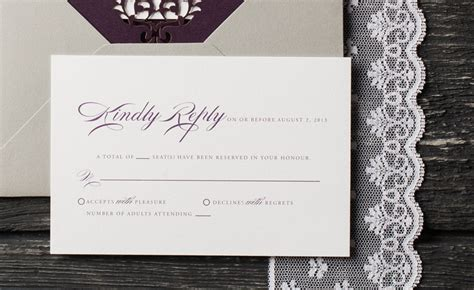 Wedding Invitation Number Of Guests Attending by How To Correctly Word Your Wedding Rsvp Card Meldeen