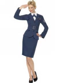 fancy dress ww2 raf wraf royal air force female captain