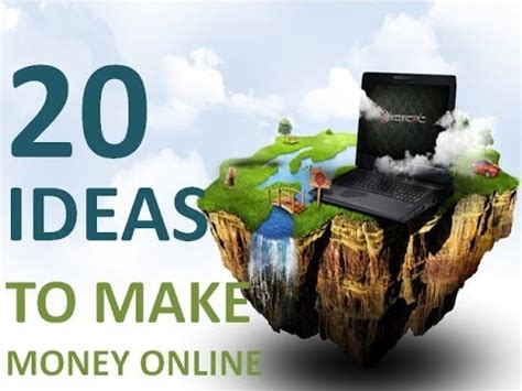 20 Ideas To Make Money Online - 20 ideas to make money online part 2 youtube