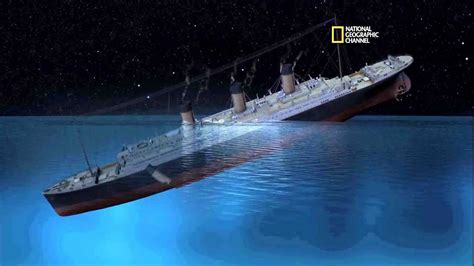 when did the titanic sink new documentary claims an iceberg did not sink the titanic