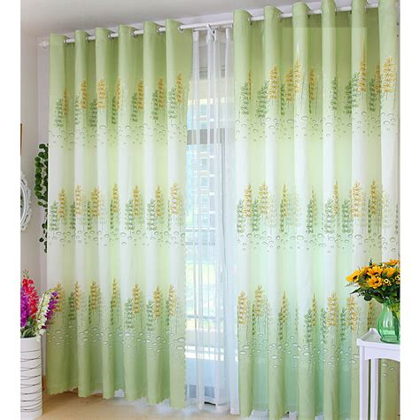 green yellow curtains green and yellow curtains durable thick polyester