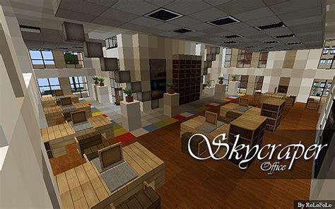minecraft office building interior   Minecraft Seeds For