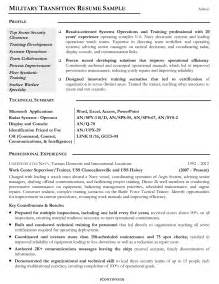 military resume exles by mos free resumes tips veteran resume 8 6 sle military to civilian resumes uxhandy com