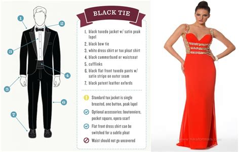 black tie dress code with popular styles in germany