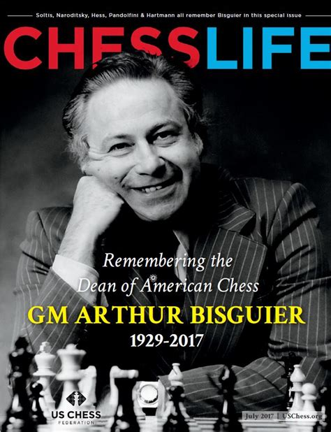 Whos News Lifestyle Magazine 17 by Remembering Gm Arthur Bisguier Web Us Chess