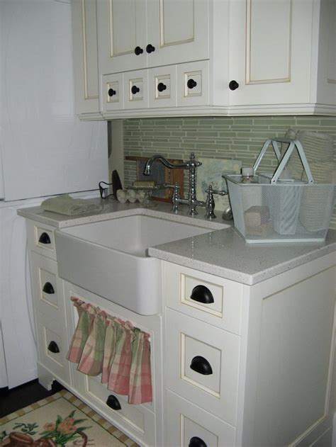 Laundry Room Sink Cabinet Laundry Room With Custom