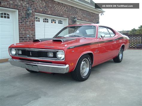 plymouth 340 duster 1970 plymouth duster 340 a t