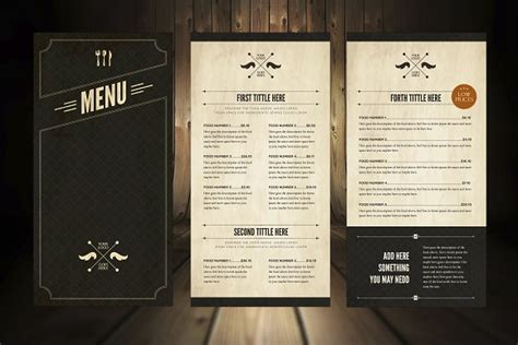 restaurant menu cafe design 50 restaurant menu designs that look better than food