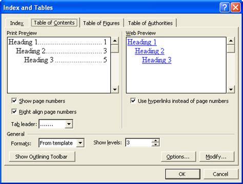 menu untuk membuat daftar isi otomatis ilmu software membuat daftar isi otomatis pada word
